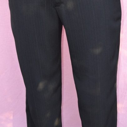 waist dress pants WA made front full shot black