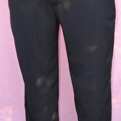 waist dress pants WA made front full shot black